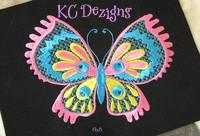 Pretty Butterflies 5 Machine Embroidery Design