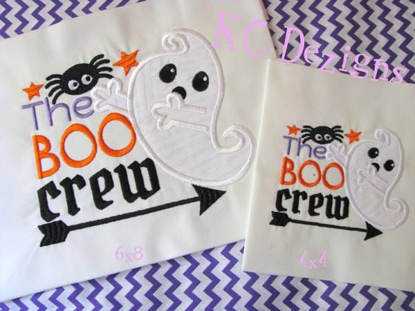 The Boo Crew Applique