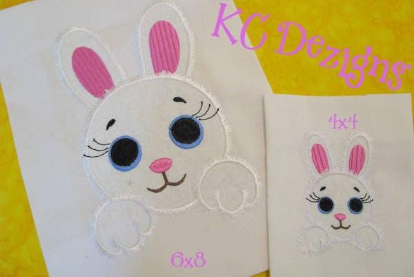Baby Bunny Face Applique