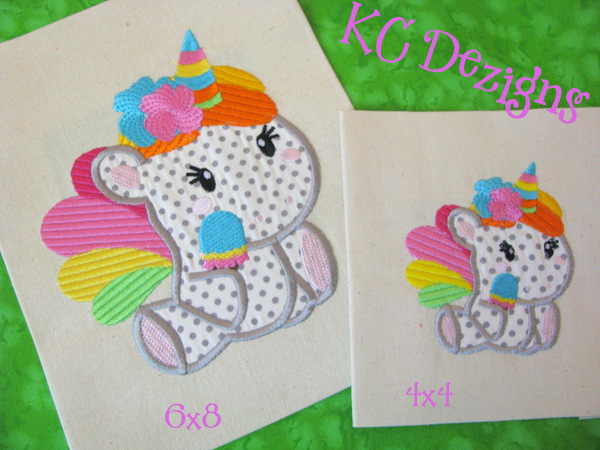 Rainbow applique embroidery design embroidery design cosellie
