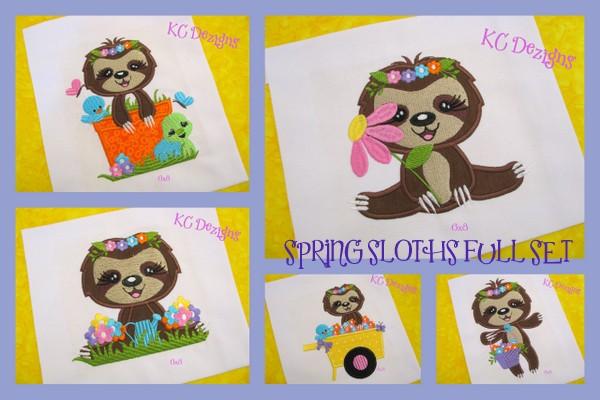 Spring Sloths Full Set